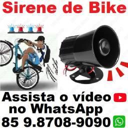 Título do anúncio: Sirene Bike