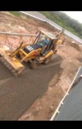 Retro Escavadeira 416 E
