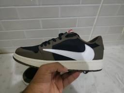 Tenis Nike Air jordan 1 Low Travis Scott