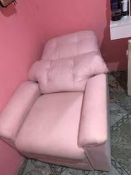 Poltrona do papai, cor rosa