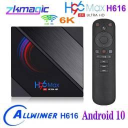 TV Box Android 10 6K Ultra veloz, último modelo 4gb 64gb