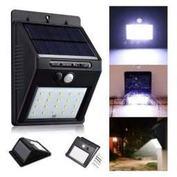 Título do anúncio: Lâmpada Luz Luminária Solar Sensor Movimento Economia 20 Leds