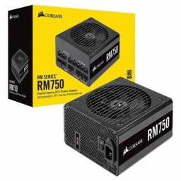 Fonte Corsair RM750 ATX 80PLUS 750w Gold Modular CP-9020195-NA
