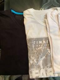 Camisetas tamanho P