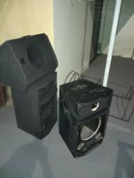 Fabricação de Caixas acusticas passivas  e amplificada sob encomenda, secas ou cheias
