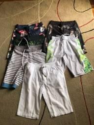 Bermudas infantis
