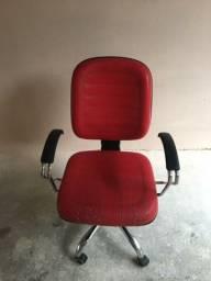 Cadeira de escritório.