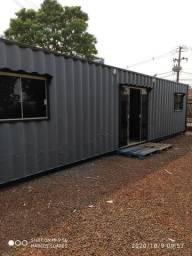 Container casa 2 quartos com móveis planejados