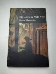 """Livro """"Morte e vida Severina"""" João Cabral de Melo Neto"""