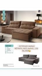 Título do anúncio: Sofá retrátil reclinável