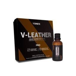 Vitrificador de Couro V Leather Pro 50ml Vonixx