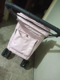 Carrinho bebê Galzerano Rosa
