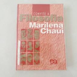Livro Convite à Filosofia - Marilena Chauí