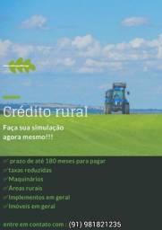 Crédito Rural para cidades do interior