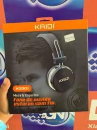 Fone de ouvido estéreo sem fio KAIDI