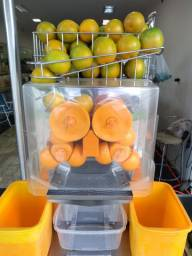 Máquina extratora de Suco Laranja