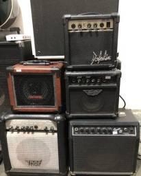 Amplificador, caixa de distorção para guitarra