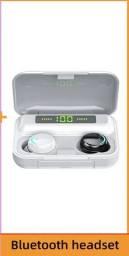 Tws bluetooth 5.0 fones de ouvido 2200mah caixa carregamento sem fio estéreo com microfone
