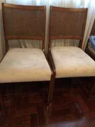 6 Cadeiras madeira maciça