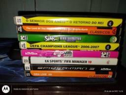 Vendo 8 jogos originais de PC.