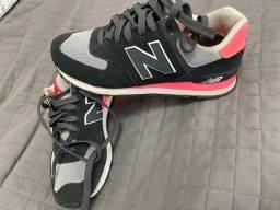 Tênis - new balance 574 - tamanho 37