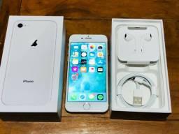 iPhone 8 64GB branco, COM NOTA FISCAL !