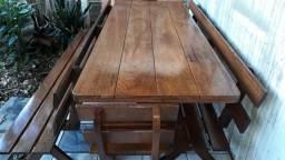 Mesa p/ churrasco em Angelim p/ 10 pessoas