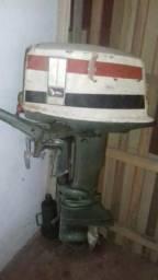 Vendo motor jhonson 20hp dois pistões 500,00