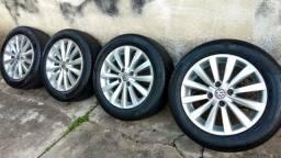 Rodas VW Aro 15 Pirelli Cinturato 195/55