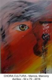 Quadro Pintura Painel - Artista Plástico Marcos Marcony - Preço Unitário