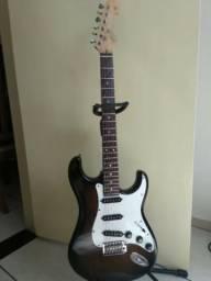 Guitarra Tagima Special Series com Mult-strato Malagoli+Pedaleira Zoom G1x Four com Fonte