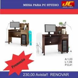Mesa para computador Studio . Montagem grátis