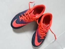 5104dc8a24 Chuteira Campo Nike Hypervenom Infantil 34