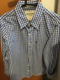 63a30ca111 Camisas Abercrombie Fitch tamanho P