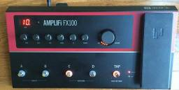 Pedaleira amplifi fx100 line 6 impecável