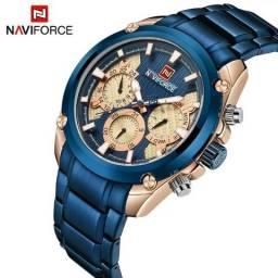 e5240dc43f8 Relógio de Luxo Naviforce