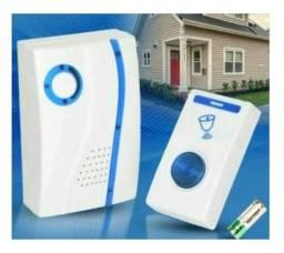 Campainha S/ Fio Wireless Bivolt - Resistente A Água