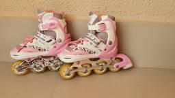 Vendo patins infantil regulável, númeraçao do 28 ao 33