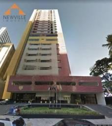 Flat com 1 quarto para alugar, 33 m² por R$ 2.200/mês - Boa Viagem - Recife