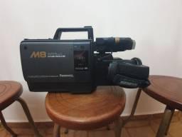 Filmadora antiga Panasonic M8 VHS Movie