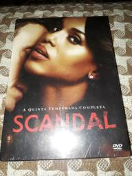 Box Série Scandal Quinta Temporada dvd . Lacrado