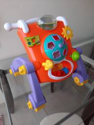 Andador calesita mesa infantil didático
