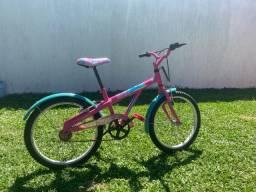 Bicicleta Caloi Ceci Cecizinha Barbie Aro 20