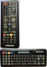 Controle Remoto e Teclado Qwerty para TV Smartv Samsung