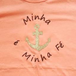 Blusa T-shirt Fé
