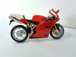 Miniatura moto Ducatti 1 18 burago