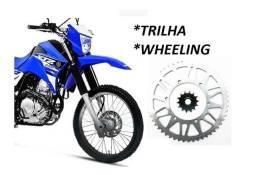 Coroa Lander 52 Dentes + Pinhão 12 Dentes Trilha Wheeling