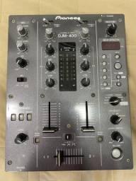Mixer Pioneer DJM 400 (Bivolt) ótimo estado
