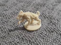 Kit 10 Miniaturas Cão Zombie, Rpg, D&d, Tabuleiro/board