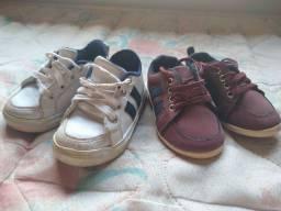 Vendo 2 tênis infantil tamanho 20 e 22